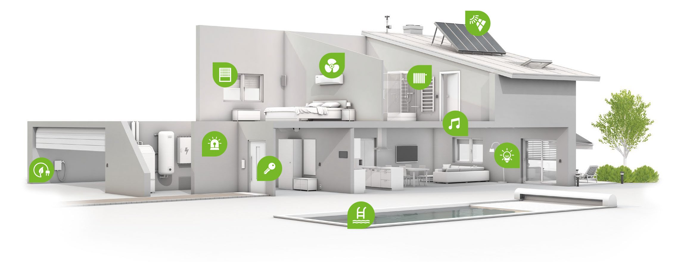 Smart home loxone