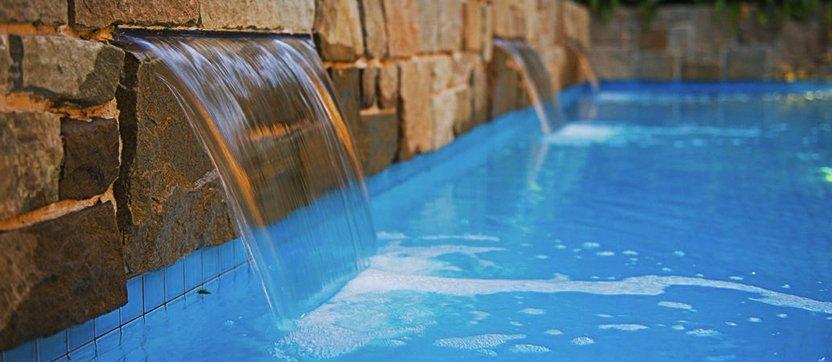 Ovládanie pripúštania vody v bazéne