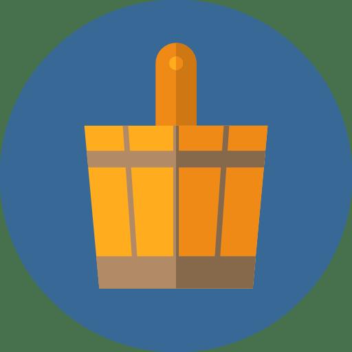 Ikona sauny v kruhu