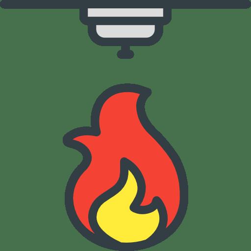 Ikona požiarneho snímača