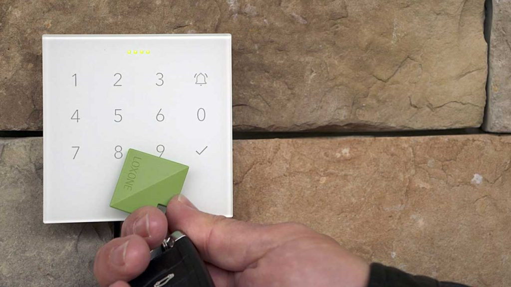 NFC code touch
